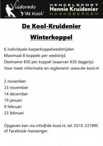 Kool Kruidenier winterkoppel 2019